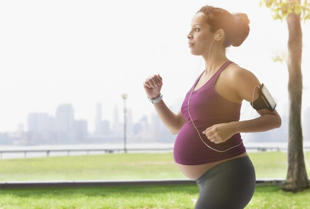 Exercícios físicos na gravidez